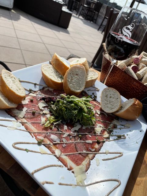 Image of beef carpaccio