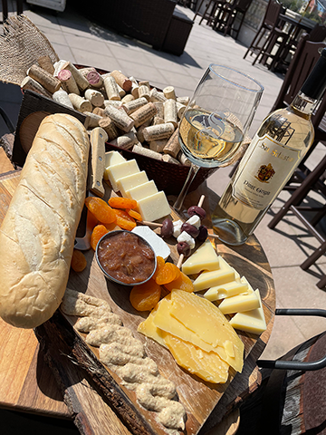 Image of cheese board