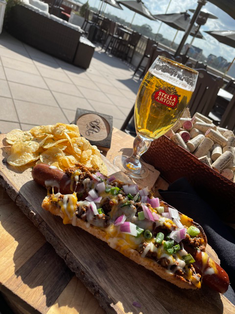 Image of Chili Cheese Dog platter