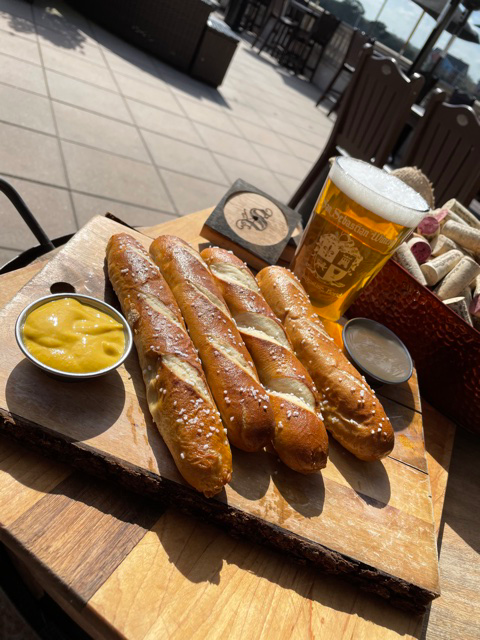 Image of pretzels and cheese