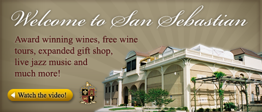 Welcome to San Sebastian Winery