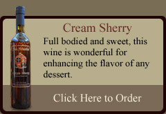 Cream Sherry